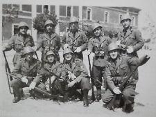 Vecchia foto epoca fotografi antica SOLDATI REGIO ESERCITO ITALIANO Spoleto 1939