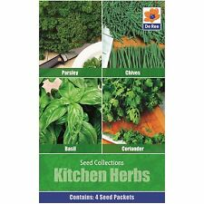 Vegetables Seed Collections - 4 in 1 pack - Kitchen Herbs