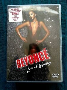 BEYONCE – LIVE AT WEMBLEY - DVD AND CD-R-4, LIKE NEW, FREE POST WITHIN AUSTRALIA