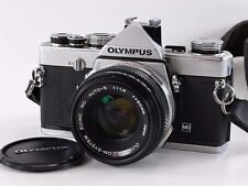 Olympus OM-1 MD 35mm SLR Camera w/OM-System Zuiko Auto-S f:1.8 Lens