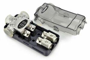 Xscorpion Platinum Digital Mini ANL Power Distribution Block 4 Ga to 4 or 8 Ga