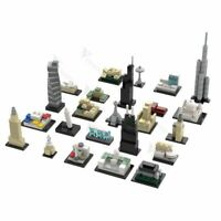 MOC-56076 Architecture Advent Calendar Building Blocks Toys Set 472 PCS Bricks