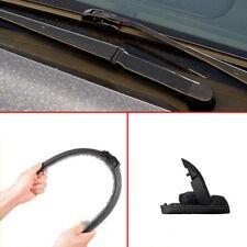 22'' Car Windshield Wiper Blade For U-Type Hook Rubber Frameless Bracketless