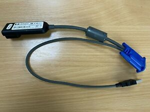 HP KVM USB Dongle Interface Adapter Cable 336047-B21 Spare Part No 396633-001