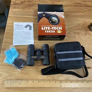 Brunton Binoculars Lite-Tech 10x25 Roof Prism Nitrogen Filled Waterproof New NOS