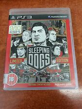 Sleeping Dogs Limited Edition Playstation 3 PS3 Game (23478)