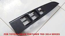 TOYOTA HILUX FORTUNER 2014 ORIGINAL BLACK KEVLAR PANEL FRONT DOOR ARMREST RH
