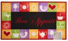 "KASHI BON APPETIT OVERSIZED KITCHEN RUG, NON SKID BACK, 20"" X 40"""