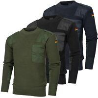 Urbandreamz Bundeswehr Pullover Strickpullover BW Jäger Gotcha Wolle 46-60