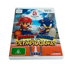 Mario & Sonic at the Olympic Games Beijing 2008 -  Nintendo Wii - COMPLETE WITH