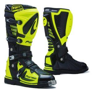motocross boots | Forma Predator 2.0 black tech mx offroad motorcycle monster