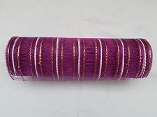 Aubergine Deco Mesh 10 inches by 10 yards