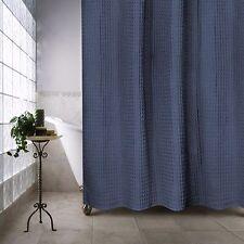 Escondido 72 Inch x 84 Inch Shower Curtain in Navy 100% Organic Cotton