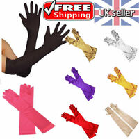 LADIES PARTY DRESS PROM EVENING WEDDING BRIDAL LONG FINGER GLOVES UK STOCK