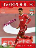 Liverpool v Sheffield United PREMIER LEAGUE PROGRAMME 24/10/20! READY TO POST!