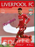 Liverpool v Sheffield United PREMIER LEAGUE PROGRAMME 24/10/20! PRE-ORDER!!!