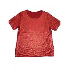 Kurzarm Damenblusen, - tops & -shirts mit U-Ausschnitt ohne Muster