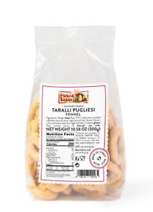 Italian Taralli Pugliesi with Fennel  - 8 bags x 10 oz