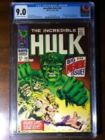 Incredible Hulk #102 (1968) - Premiere Issue! - CGC 9.0!! - Key!!!