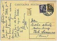 ITALIA RSI - Intero Postale con AFFRANCATURA MISTA : IMPERIALE - 14.11.1945