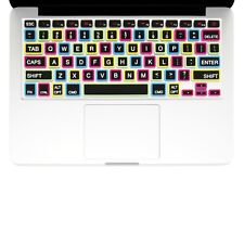 "UNIK CASE-Silicone Keyboard Cover for Macbook Pro 13"" 15"" 17""Unibody-Candy Black"