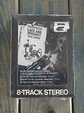 Alice Cooper~ Lace And Whiskey FACTORY SEALED 8-Track