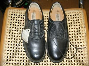 Black Amblers Mens Smart Leather Shoes Size 8/41 **CLEARANCE**