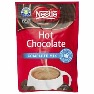 100 X 25g Sachets Nestle Instant Hot Chocolate Complete Mix - FREE SHIPPING