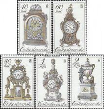 Slowakije 2529-2533 postfris 1979 Horloges