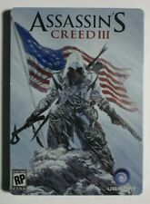 Assassin's Creed III Steelbook Pre-Order Exclusive NO GAME!! BRAND NEW, SEALED!!