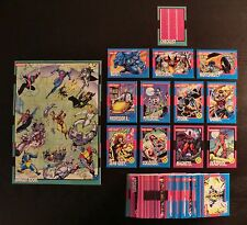 1992 Impel Uncanny X-Men - Complete 100 Card Base Set - Marvel Comics NM