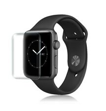 For Apple Watch 38mm Series 1/2/3 Full Curve Coverage TPU Screen Protector