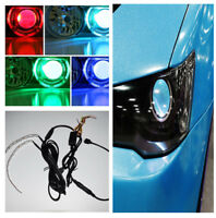 "Universal RGB LED Demon Eye Module Ring MINI Cooper for Car SUV 3.0""/2.5"" Rings"