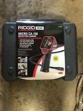 New Ridgid Micro Inspection Camera Ca 150 Inspection Camera 35 Color 36848