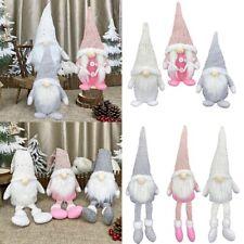 Christmas Gnome Plush Doll Pendant Xmas Tree Hanging Ornament Party Decoration