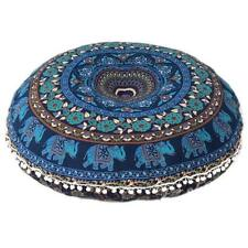Floor Cover Mandala Pillow Cushion Indian Round Bohemian Throw Pouf Large Pillow
