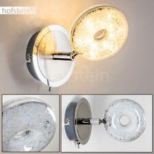 LED Wandlampe Rund mit Schalter Wohn Schlaf Zimmer Büro Flur Diele Beleuchtung