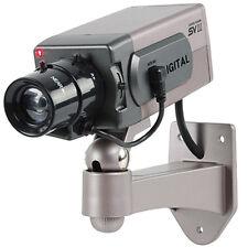 Dummy Fake  CCTV Security Camera - Flashing LED Indoor - Decoy Imitation