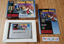 Super Nintendo SNES Stunt Race FX PAL