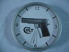COLT 1911 pendule murale horloge 20cms ( KDO DKO 11,43 45 ACP GUN WEAPON USA )
