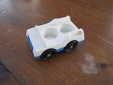 Fisher Price Little People Play family McDonalds 2552 Blue car town main village