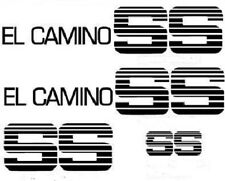 Chevy El Camino SS Original Complete Graphics Kit 78 79 80 81 82 83 84 85 86 87