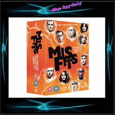 MISFITS - COMPLETE SERIES SEASONS 1 2 3 4 5 *** BRAND NEW BOXSET***
