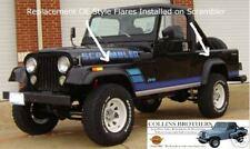 Jeep CJ Fender Flare Kit - 1981-1986 Scrambler CJ-8