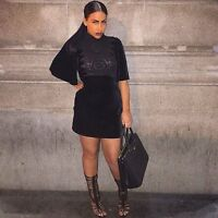 ZARA WOMAN SCHICKES SAMTKLEID XS 34 VELVET DRESS SCHWARZ HAKEL SILK SEIDE