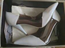 Size 7 / 40  RRP  STELLA McCARTNEY iconic  white  Stiletto Heels  vegetarians