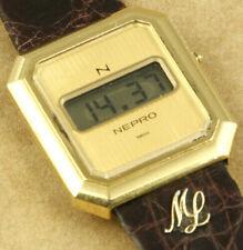 Nepro Vintage Digital Swiss Made Watch 29x33mm