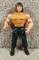 1980's Hasbro MOTU Adventure Man John Rambo Bootleg Action Figure Loose A