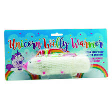 KNITTED UNICORN WILLY WARMER FUNNY SECRET SANTA NAUGHTY ADULT NOVELTY GIFT