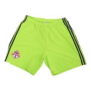 Toronto FC MLS Adidas Men's  Signal Green Climaliate Condivo 18 Team Shorts